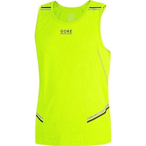 Gore Running Wear Imythm Mythos 6.0 Canotta, Uomo, Giallo (Neon Yellow), L