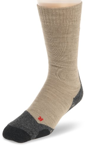 FALKE Herren Trekkingsocke TK 2, sand, 46-48, 16474, ( UK  11-12.5 )