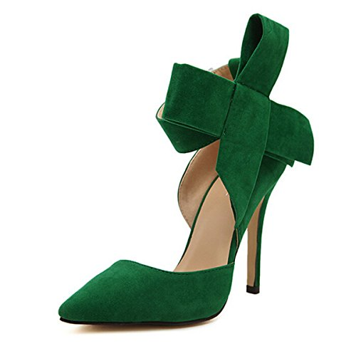 yh-pointy-suede-high-heel-womens-shoes-with-big-bowknot-green-36