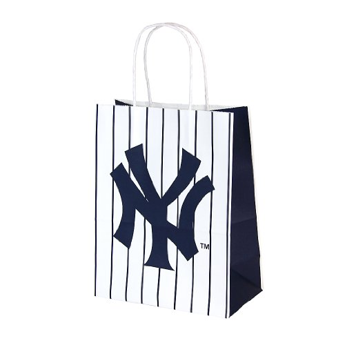 "Berwick MLB New York Yankees Paper Handle Gift Bag, 7.75"" Wide by 9.75"" High by 4"" Deep at Amazon.com"
