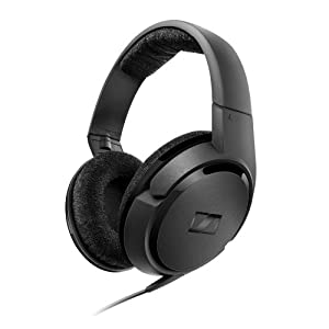 Sennheiser HD419 Sleek Closed-Back Stereo Headphones with Dynamic Bass