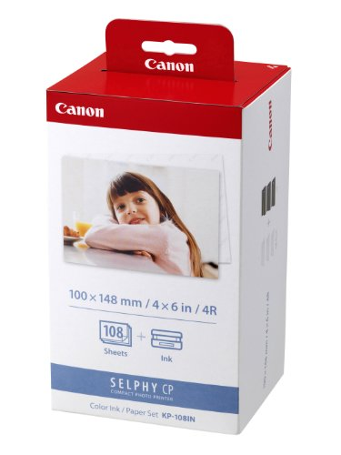 Canon KP-108IN Color Ink Paper Set 3115B001