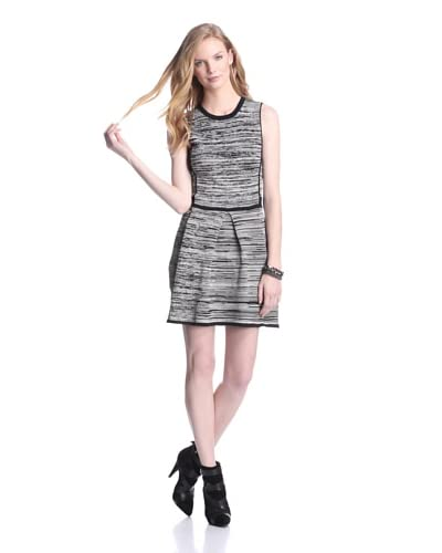 W118 by Walter Baker Women's Taylor Dress  [Black/Oatmeal]