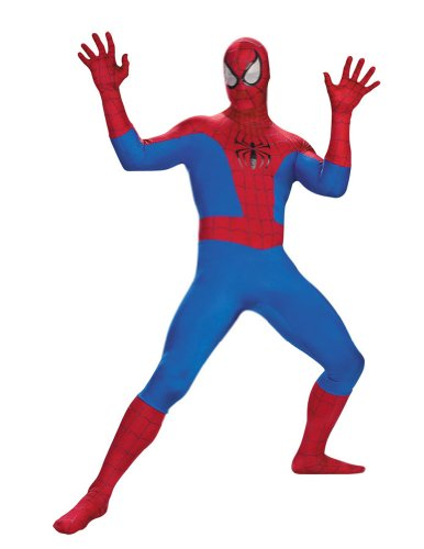 Deluxe Rental Quality Spider-Man Costume Adult Mens Costume