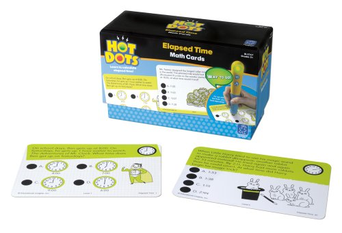 Educational Insights Hot Dots Elapsed Time Cards - 1