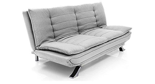 Buy FabHomeDecor Brio FHD319 Three Seater Sofa Cum Bed LightGrey On Amazon