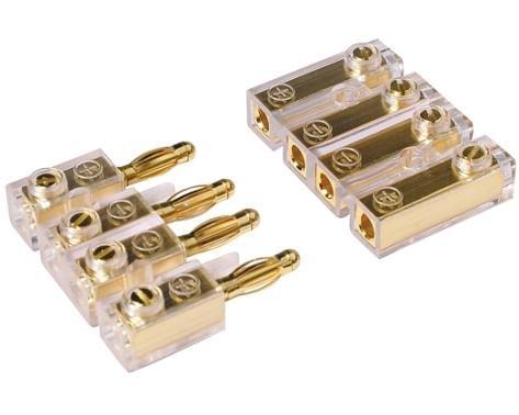 CAR-HIFI-Soundboard-Kabel-Stecker-Verbinder-Kupplung-4-polig-vergoldete-Stecker-0122P
