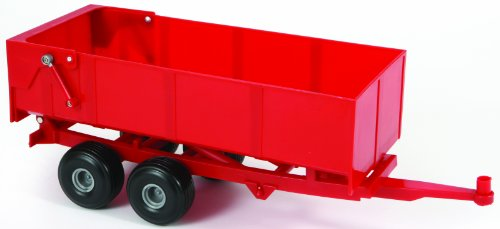 Britains 42430 Bulk Tipping Trailer Red