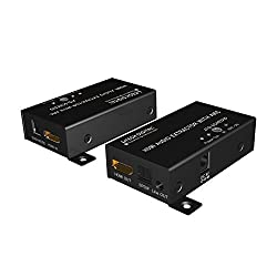 J-Tech Digital HDMI to HDMI ARC Adapter with CEC and Optical TOSLINK Audio Output HDMI ARC Audio Adapter Audio Extractor for Home Theater Application Support 4K Support CEC Function SPDIF + RCA +ARC Ultra HD w/ EDID