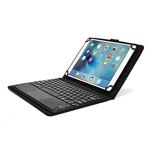 Samsung Galaxy Tab S2 9.7 (Wi-Fi T810/3G LTE T815) Keyboard case, COOPER TOUCHPAD EXECUTIVE Bluetooth Detachable QWERTY Wireless Keyboard Carrying Case Tablet Cover Folio with Stand (Black) (Wi Fi Keyboard And Mouse compare prices)