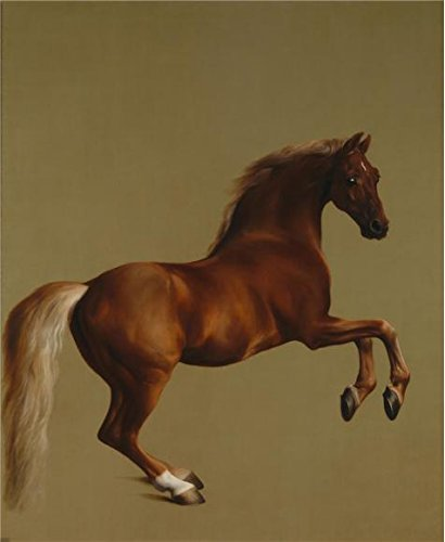 The Polyster Canvas Of Oil Painting 'George Stubbs - Whistlejacket,about 1762' ,size: 12x15 Inch / 30x37 Cm ,this Replica Art DecorativeCanvas Prints Is Fit For Home Office Decoration And Home Decor And Gifts (Rite Aid 5 Blade Razor compare prices)
