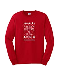 Christmas Sweater Immitation Reindeer Snowflake