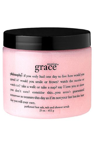 amazing grace salt scrub 23.0 oz for Women