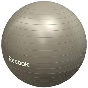 Reebok Ballon de gymnastique avec DVD Champagne 65 cm