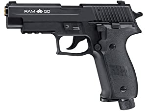 Buy RAM X50 Sig Sauer Paintball Pistol Blowback Black by RAM