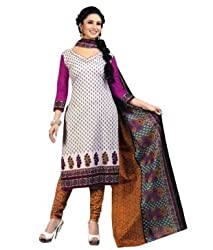 Airfashion Women's Unstiched Dress Material (SG-703_Multi_Free Size)