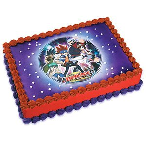Beyblade Edible Image (Beyblade Birthday Supplies compare prices)