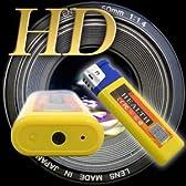 HD画質で撮影できる100円ライター型ビデオカメラ