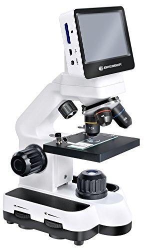 Bresser LCD-Mikroskop (5 Megapixel, 10,9 cm (4,3 Zoll) Touchscreen)