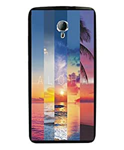 Techno Gadgets Back Cover for Micromax Yu Yunicorn