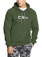 CMP Campagnolo Sudadera con Capucha 3D39357 (Verde)