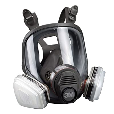 Large Assembly- 3m Full Face Respirator