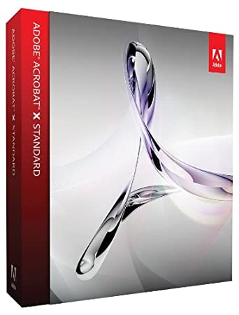 Adobe Acrobat X Standard Upgrade from Acrobat Standard 7/8/9