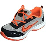 Roxxy Orange Men's Running Sports Shoes With Proper Air Passing Mesh