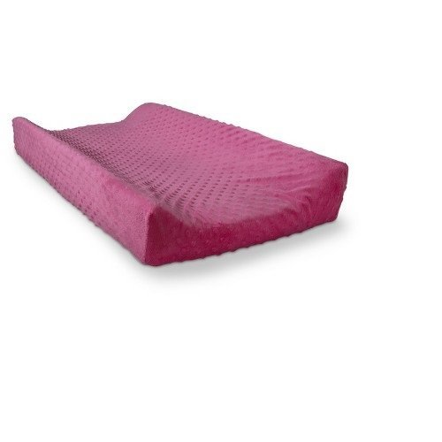 Circo Plush Popcorn Changing Pad Cover Hot Pink