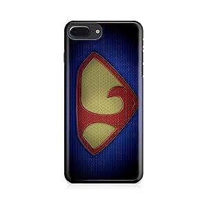 Motivatebox-Apple Iphone 7 plus cover-Man of Steel L Polycarbonate 3D Hard case protective back cover. Premium Quality designer Printed 3D Matte finish hard case back cover.