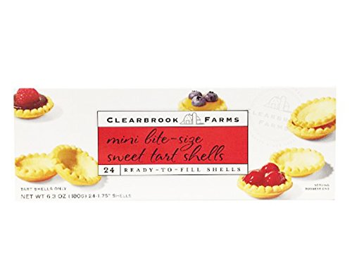 Clearbrook Farms Ready to Fill Mini Bite-size Sweet Tart Shells 24-count (180g) (Ready Mini Pie Shells compare prices)