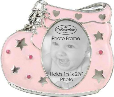 Baby Girl Pink Shoe Photo Frame