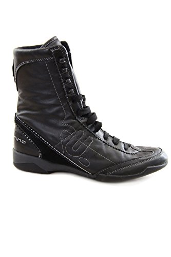 Fornarina Leather Ankle Boots mod. PIFYE3637WC Black EU39