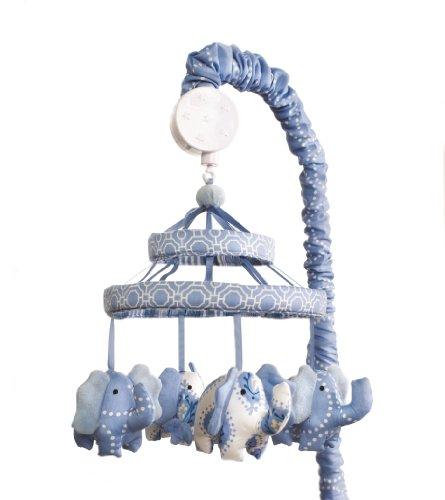 Dena Indigo Musical Mobile, Blue/White