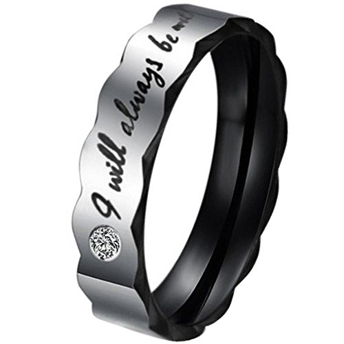 Men - Size 9 - Men's Women's Stainless Steel Love