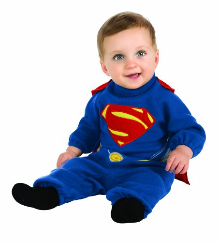Rubie's Costume Man Of Steel Superman Romper