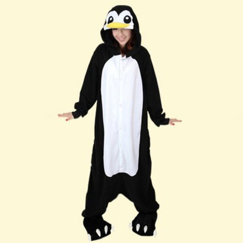 Adult Unisex Long Sleeve Animal Black Skunk Big Size Pajamas Costumes
