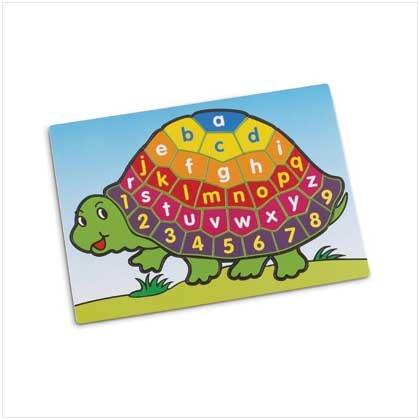 Turtle Alphabet Puzzle - Style 37136 - 1