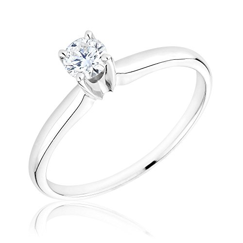 Classic Diamond Solitaire Ring 1/4Ct - Size 8
