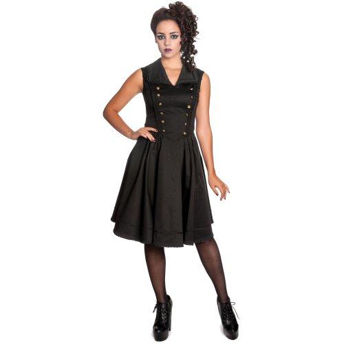 Spin Doctor dell'abito NASTASYA DRESS black nero X-Large
