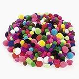 Tiny Pom Poms (500 pieces) - Bulk