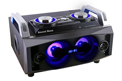 Sound Boss GALAXY HI-FI MINI BLASTER Portable Bluetooth Home theater music system Speaker
