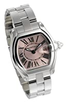 Cartier Women's W62017V3 Roadster Pink Dial Watch by Cartier