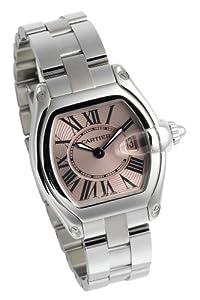 Cartier Women's W62017V3 Roadster Pink Dial Watch