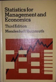 Statistics for Management and Economics, 3rd, Third Edition