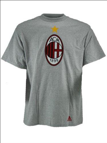 adidas AC Milan Logo Soccer T-Shirt