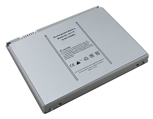"Batteria 5600mAh portatile Notebook sostitutiva per Apple MacBook 15"" 15,4"" pollici, compatibile con A1148 A1150 A1175 A1405"