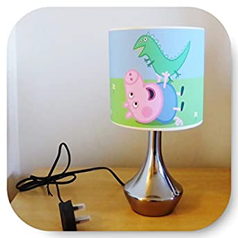George peppa pig bedside lamp boys bedroom light for Peppa pig lamp and light shade