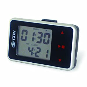 CDN Touch Screen Timer and Clock