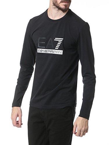 (エンポリオアルマーニ イーエーセブン) EMPORIO ARMANI EA7 フロント ロゴ クルーネック 長袖 Tシャツ 【273349 5A254】 [並行輸入品]